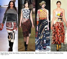 Pattern Mixing...a growing trend