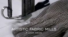 """Artistic Fabric Mills – A Look Inside""  http://www.denimfuture.com/watch-video/artistic-fabric-mills-a-look-inside"