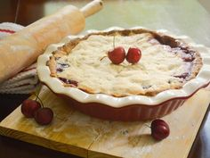 Door County Cherry Pie with step by step photos.