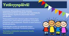 Ystävyyspäivän juliste