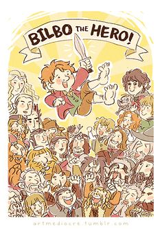 Bilbo the hero! - A great picture with so many of my all time favourite characters