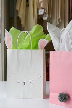 DIY Bunny Easter Basket | Easter crafts | DIY Easter basket | Easter basket ideas | bunnies