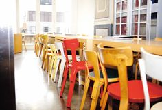 Rose Bakery Café, London, UK, 2011 /  2nd Cycle: 69 Chair, 65 Chair, N65 Children's Chair