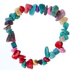 Bracelet Printemps/été -#Perles Pierre Naturelle pour femmes-couleur #multicolor