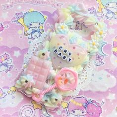 This case will be listed on my Etsy soon! Customs are closing at midnight tonight, so if you're interested in a custom case please visit my Etsy! Diy Case, Diy Phone Case, Cute Phone Cases, Iphone Cases, Decoden Phone Case, Kawaii Phone Case, Silicone Phone Case, Kawaii Diy, Kawaii Crafts