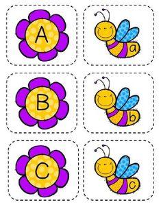 Preschool Curriculum Free, Preschool Classroom, Preschool Worksheets, Teaching Letters, Preschool Letters, Preschool Learning Activities, Preschool Activities, Teacher Classroom Decorations, Upper And Lowercase Letters
