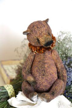 Pattern  Teddy Bear BROWN   24-25 cm. Artist от NatashaMurasha