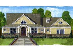 <!-- Generated by XStandard version 2.0.0.0 on 2010-11-03T13:42:56 --><ul><li>A spacious wrap around porch hugs this home plan creating a warm and welcoming exterior. The combination of siding, stone and shakes adds color and texture to its overall beauty.</li><li>The great room, kitchen and dining area flow easily creating large spaces and a casual atmosphere.</li><li>The large island in the kitchen becomes a strategic gathering place.</li><li>The entry from the garage offers a mud room…