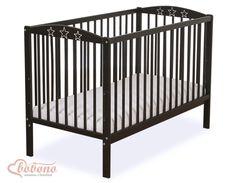 Łóżeczko Gwiazdki - brązowe - Pościel dla dzieci i niemowląt - największy sklep internetowy