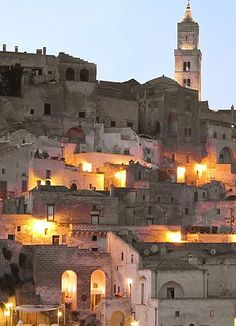 Matera in Southern Italy