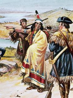 Showed Lewis and Clark the way. While carrying a baby on her back. For a thousand miles.