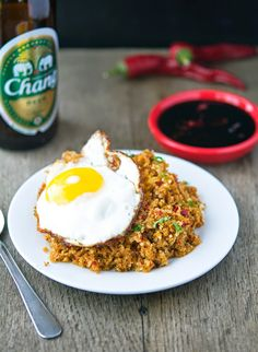 Nasi Goreng-Style Cauliflower Fried Rice  | Calling all conscious foodies @ foodiehaven.com