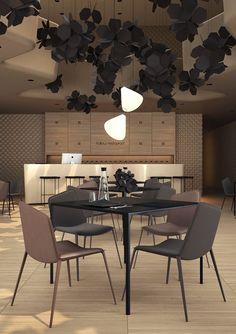 Sergey Makhno & Vasiliy Butenko, Hollow Restaurant Interior Design
