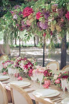 Featured Photographer: Arrowood Photography; wedding centerpiece idea