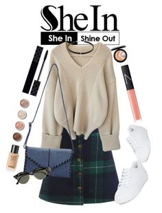 """Untitled #1613"" by anarita11 ❤ liked on Polyvore featuring New Look, Ray-Ban, Terre Mère, Gucci, NARS Cosmetics and MAC Cosmetics"