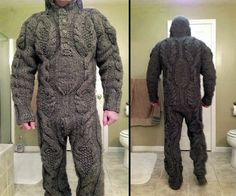 Fight Fashion And The Cold With A Full Body Sweater