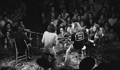 Crosby, Stills, Nash & Young perform to an attentive crowd at Chicago Stadium in 1974. (Kirk West) via CNN