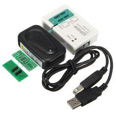 BIOS USB SPI Programmer 24 25 93 EEPROM Flash Support Off-line Chip Copy