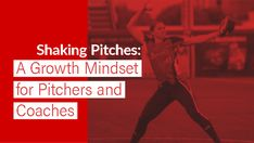 I wish I could say I learned my lesson about shaking pitches that very day, but it took me a while longer. With Coach Alameda, shaking pitches was encouraged. Softball Equipment, Fastpitch Softball, Growth Mindset, Coaching, Encouragement, Take That, Learning, Training, Studying