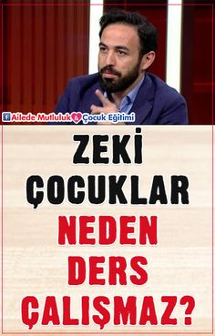 Zeki Çocuklar Neden Çalışmaz? - Dr. Özgür Bolat Gentle Parenting, Kids And Parenting, Teaching Time, Montessori Activities, Childcare, Self Improvement, Personal Development, Behavior, Psychology