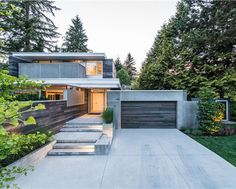 Modern home in Vancouver - www.interiordesig......