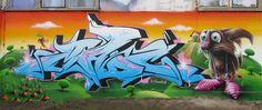 Graffiti art -Mad C