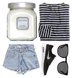"""broke"" by grey-eyes ❤ liked on Polyvore featuring Laura Mercier, J.Crew, NIKE and Polo Ralph Lauren"