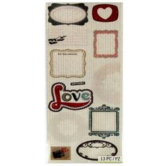 Kelly Panacci Inc. / K & Company Eclectric Vellum Die Cut Stickers at Hooby Lobby Heidi Swapp, Sticker Shop, Die Cutting, Hobby Lobby, Paper Design, Fun Stuff, Journals, Embellishments, How To Find Out