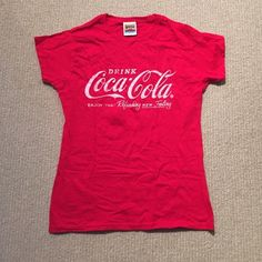 Coca Cola shirt from a Coke commercial in London Coca Cola shirt worn in the filming of a Coke commercial in London, England Tops Tees - Short Sleeve