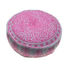Nomad Embroidered Pouffs - Homeware