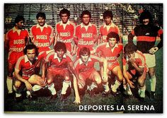 Deportes La Serena. Plantel 1984
