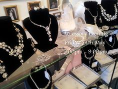 Accessory evening friday 24th may 5.00-9.00. Xx