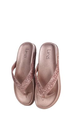 Call off the search with our Farah Rose Gold Glitter Toe Post Style Sandal. Shop unique fashion at SilkFred Glitter Toes, Rose Gold Glitter, Holiday Essentials, Unique Fashion, Baby Shoes, Sandals, Summer, Ideas, Style