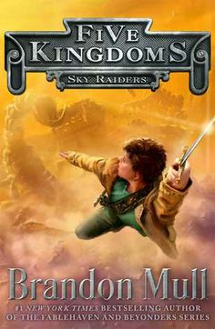 Sky Raiders (Five Kingdoms #1) by Brandon Mull.  -- New series from the #1 New York Times bestselling author of the Fablehaven and Beyonders series.  Published March 11th 2014.  Pre-ordered from Amazon.  Arrived. -- Commenced reading on 1 Jul.  Finished reading 2 Jul.