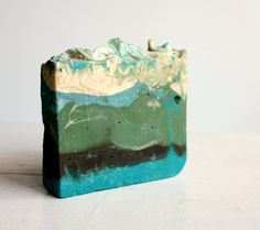 This beautiful soap is infused with orange, lemon and chamomile.