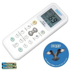 HQRP Universal Remote Control Compatible With Daikin BRC7C812 FXFQ FCQ  BRC7E83 FXHQ FHQ Air Conditioner +