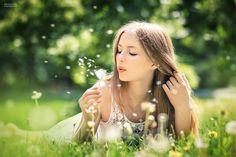 || summer shoot / dandelion / blow / make a wish / summer by Tatiana Antoshina / 500px