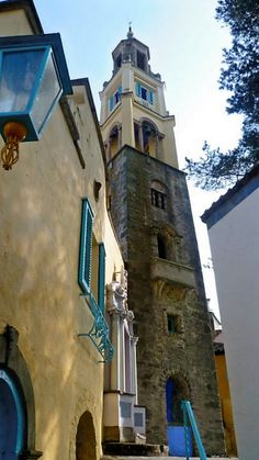 Portmeirion - Wales. easter 2011