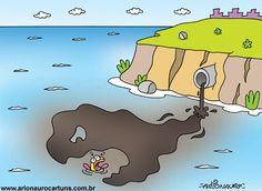 Poluição - Esgoto no Mar