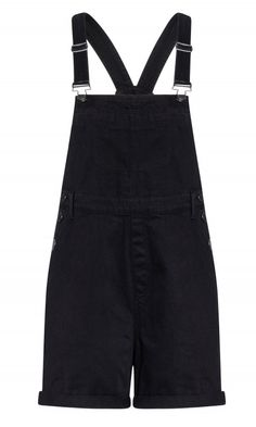 Shop Women's Plus Size Short Denim Overall - black - Street Style - Collections City Chic Online, Overalls, Denim Shorts, Women's Plus Size Shorts, Fashion Addict, Overall Shorts, Plus Size Fashion, Street Wear, Street Style