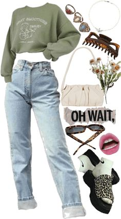 c Outfit | ShopLook Grunge Outfits, Fashion Outfits, Outfit Maker, Trends, Polyvore, Sweatshirts, How To Wear, Style, Goal
