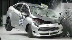 Small cars get crushed in crash tests
