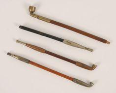 asian metal smoking pipe