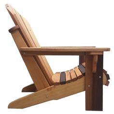Premium Cedar Adirondack Chair Kit by OregonPatioWorks on Etsy Red Cedar Wood, Western Red Cedar, Adirondack Chair Kits, Rustic Furniture, Outdoor Furniture, Paint Furniture, Funky Furniture, Furniture Design, Barn Parties