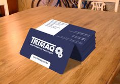 Cartão de Visita Trimaq