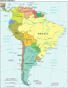 South america travel info