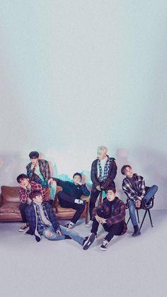 [WALLPAPER] #iKON X H:CONNECT Chanwoo Ikon, Kim Hanbin, Ikon Kpop, Ikon Debut, Ikon Wallpaper, Funny Boy, Yg Entertainment, South Korean Boy Band, Boy Bands