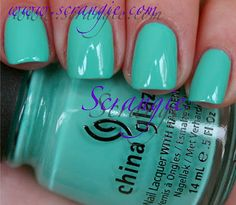 China Glaze Aquadelic. Want this for spring and summer.