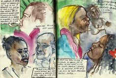 Urban Sketchers: Cuba on our mind: A peek at the sketchbooks of travelling urban sketchers
