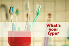 There are so many different types and variations of toothbrushes that it can be confusing when choosing a new one.  We recommend a soft bristled brush with a small head to make it easier to reach those teeth way in the back.  Whichever one you choose just make sure you're using it for 2 minutes twice a day! - Peckosh Pediatric Dentistry | #Dubuque | #IA | http://ift.tt/1JCMLzu